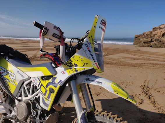 Pronto il Kit Rally by O2Riders per 701 enduro